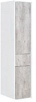 Шкаф-пенал для ванной Roca Ronda ZRU9303006 (бетон/белый глянец) -