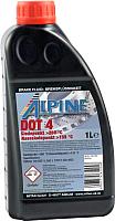Тормозная жидкость ALPINE Brake Fluid DOT 4 / 0101103 (1л) -