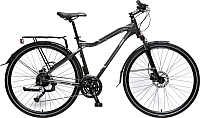 Велосипед Forsage MTB Stroller-X FB28003(530) (серый/коричневый) -