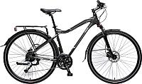 Велосипед Forsage MTB Stroller-X FB28003(483) (серый/коричневый) -