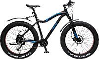 Велосипед Forsage Фэтбайк Riot-x FB26002(510) (черный) -