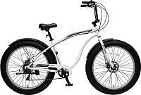 Велосипед Forsage Фэтбайк FB26001 (белый) -