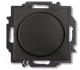 Диммер ABB Basic 55 6515-0-0846 (шато-черный) -