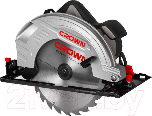 Купить Дисковая пила CROWN, CT15210-235, Китай