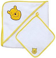 Комплект для купания Polini Kids Disney baby. Медвежонок Винни Чудесный день 2 (желтый) -