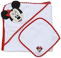 Комплект для купания Polini Kids Disney baby. Минни Маус 2 (красный) -