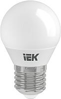 Лампа IEK ECO G45 5Вт 230В 4000К E27 (LLE-G45-5-230-40-E27) -