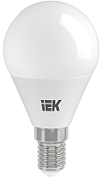 Лампа IEK ECO G45 7Вт 230В 4000К E14 (LLE-G45-7-230-40-E14) -