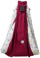Слинг Polini Kids Disney Последний богатырь с вышивкой (лес/розовый) -