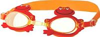 Очки для плавания Novus NJG-102 (оранжевый/лягушка) -