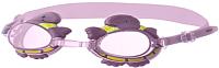 Очки для плавания Novus NJG-107 (розовый/черепаха) -