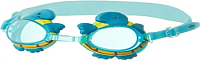 Очки для плавания Novus NJG-108 (голубой/черепаха) -