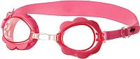 Очки для плавания Novus NJG-109 (розовый/цветок) -