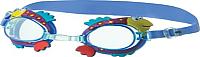 Очки для плавания Novus NJG-110 (голубой/рыбка) -