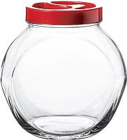 Емкость для хранения Pasabahce Белла 80386/1071390 (красный) -