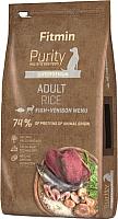 Корм для собак Fitmin Purity Adult Rice, Fish & Venison (2кг) -