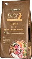 Корм для собак Fitmin Purity Puppy Rice, Lamb & Salmon (12кг) -