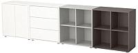 Комплект мебели для жилой комнаты Ikea Экет 291.910.18 -