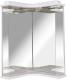 Зеркало для ванной Аква Родос Глория 45 / 000000505 (угловое) -