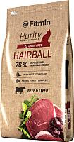 Корм для кошек Fitmin Purity Hairball (10кг) -