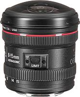 «рыбий глаз» Canon EF 8-15mm f/4L USM Fisheye -