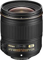 Широкоугольный объектив Nikon AF-S Nikkor 28mm f/1.8G -