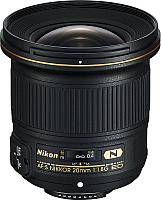Стандартный объектив Nikon AF-S Nikkor 20mm f/1.8G ED -