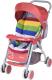 Детская прогулочная коляска Alis Zara (красный) -