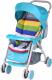 Детская прогулочная коляска Alis Zara (синий) -
