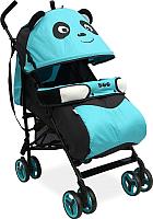 Детская прогулочная коляска Alis Boo (синий) -