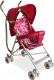 Детская прогулочная коляска Alis Game (розовый) -