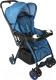 Детская прогулочная коляска Alis Joy (синий) -