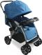 Детская прогулочная коляска Alis Lee (синий) -