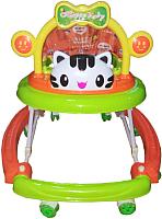 Ходунки Alis Счастливый малыш 8 / MLT-615A (зеленый) -