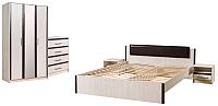 Комплект мебели для спальни Евва Милан (1.1) -