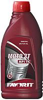 Моторное масло Favorit 2-Takt TC Moto / 51471 (1л, красный) -