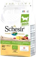Корм для собак Schesir Bio Adult Dog с домашней птицей (600г) -