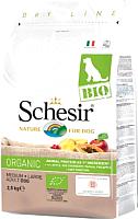 Корм для собак Schesir Bio Adult Dog с домашней птицей (2.5кг) -