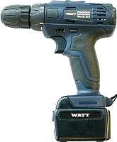 Профессиональная дрель-шуруповерт Watt WAS-21Li-2 (1.021.031.12) -