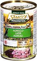 Корм для собак Stuzzy Monoprotein с ягненком (400г) -