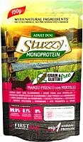 Корм для собак Stuzzy Monoprotein свежая говядина с черникой (150г) -