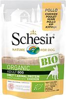 Корм для собак Schesir Bio с курицей (85г) -