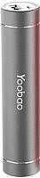 Портативное зарядное устройство Yoobao Torch Power Bank LED TOO (серый) -