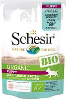 Корм для собак Schesir Bio Puppy с курицей (85г) -