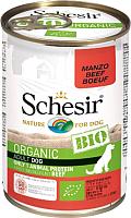 Корм для собак Schesir Bio с говядиной (400г) -