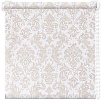 Рулонная штора АС ФОРОС Дамаск 57x175 (белый) -