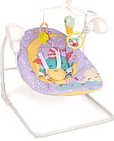 Качели для новорожденных Happy Baby Jolly V2 (фиолетовый) -