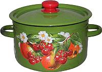 Кастрюля Idilia Зеленые яблоки и вишни 1607/4 -