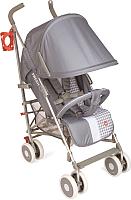 Детская прогулочная коляска Happy Baby Cindy (светло-серый) -