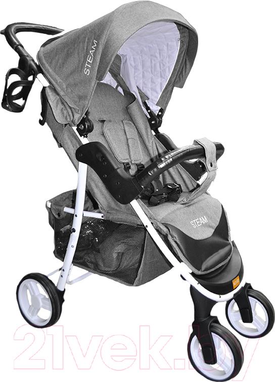 Купить Детская прогулочная коляска Xo-kid, Steam (темно-серый), Китай